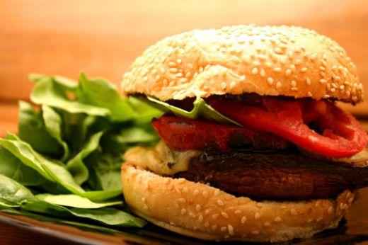 Grilled Portobello Mushroom Sandwich Recipe